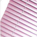Aluminium Blinds 25mm - Metallic Pink