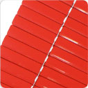 Aluminium Blinds 25mm - Red