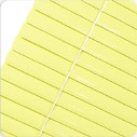 Aluminium Blinds 25mm - Yellow