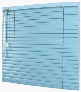 Aluminium Blinds 25mm - lift and tilt control: left