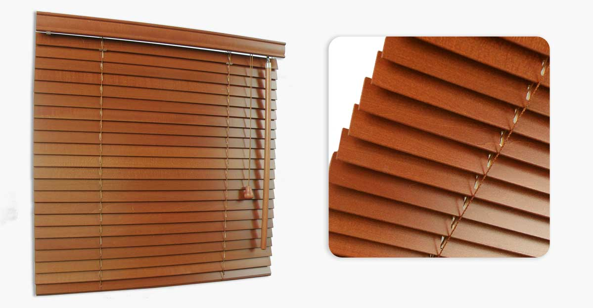 Wooden Venetian Made To Measure 25mm Blinds Order Online
