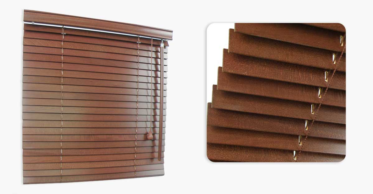 Wooden Blinds MadeFaux Wood Woven