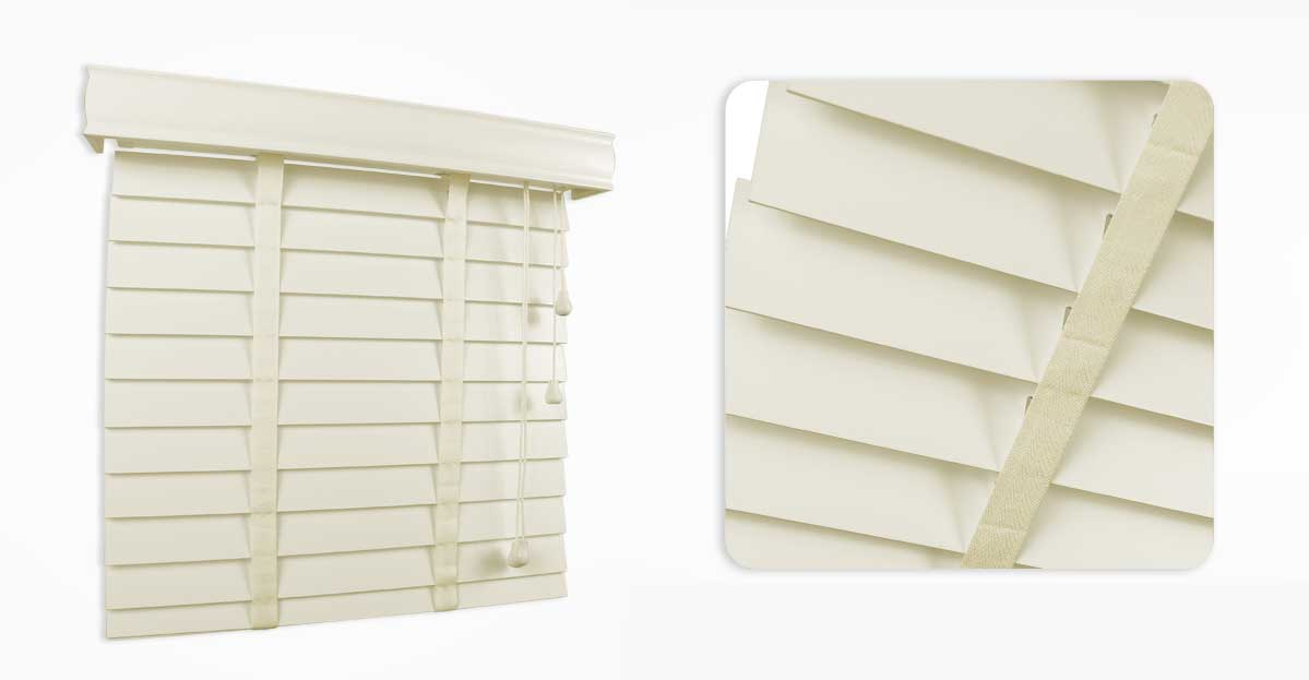 Shell Wooden Blind 50mm